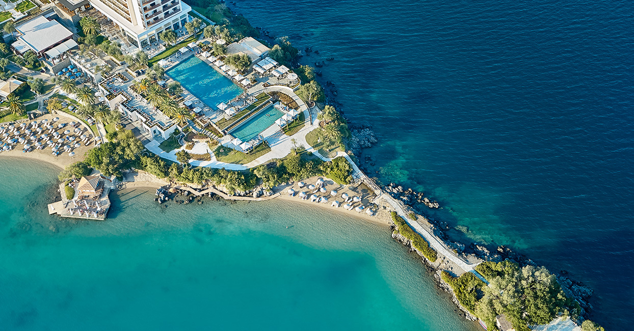 Corfu Imperial Luxury Vacation