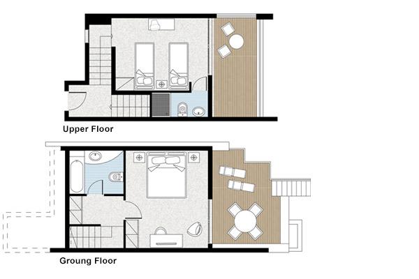 Maisonette floor plan best free home design idea for Maisonette plans