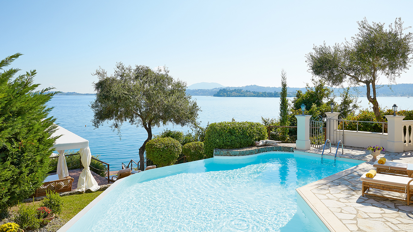 Palazzo imperiale grecotel corfu imperial luxury hotel for Villas with pools