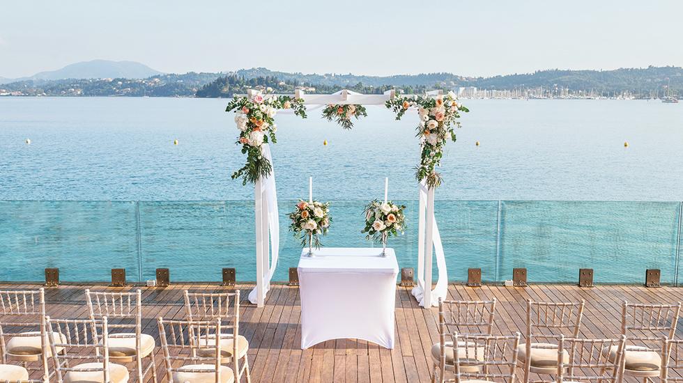 Wedding Holiday in Corfu | Corfu Imperial Wedding Hotel