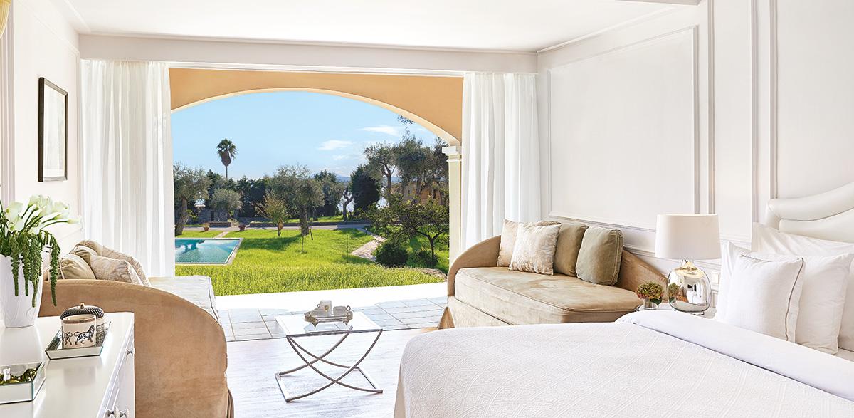 Family-Bungalow-Open-Plan-Sharing-Pool-Luxury-Accommodation-Corfu