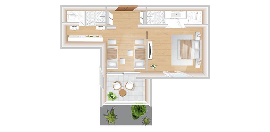 corfu-imperial-boschetto-two-bedroom-family-suite-floorplan