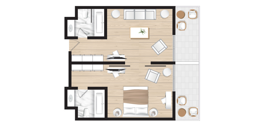 Corfu-Imperial-Deluxe-Family-Suite-Sea-View-Floorplan