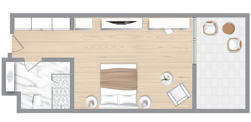 Corfu-Imperial-Deluxe-Guestroom-Sea-View-Floorplan