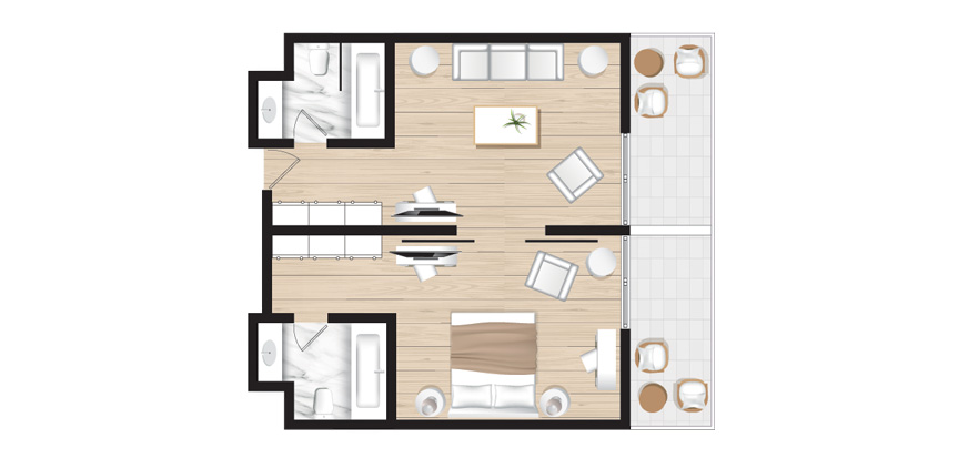 Corfu-Imperail-Deluxe-Suite-Sea-View-Floorplan