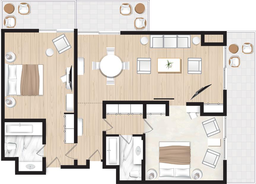 2-Bedroom-Suite-Sea-View-floorplan-in-Corfu-Imperial