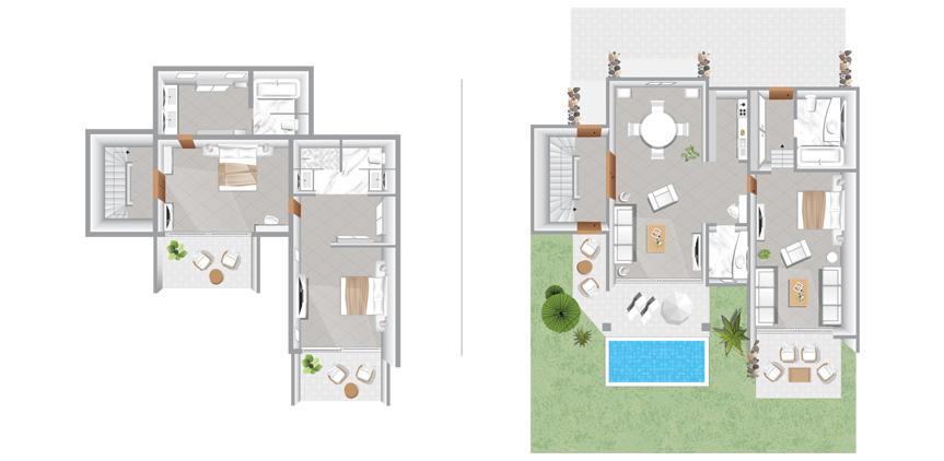 corfu-imperial-3-Bedroom-Beachfront-Villa-Private-Pool-floorplan