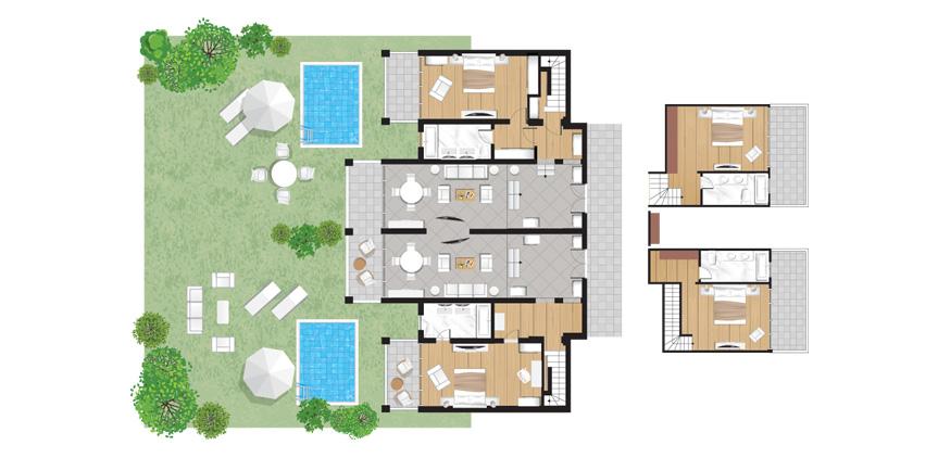 Corfu-Imperial-Royal-Pavilion-Private-Pool-Floorplan